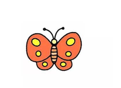 蝴蝶簡筆畫