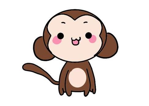 猴子簡筆畫