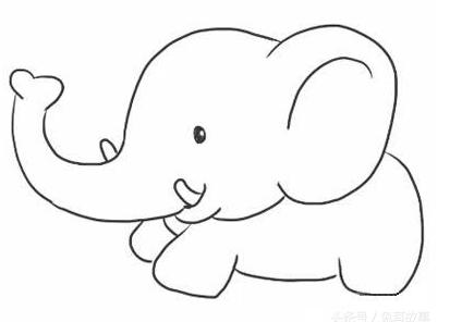 大象簡筆畫