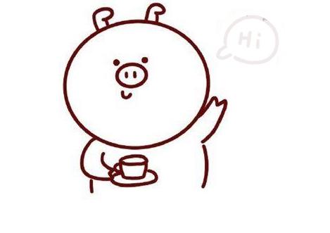 小猪简笔画