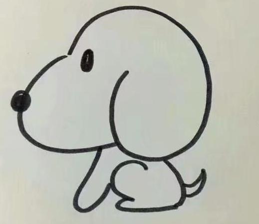狗的簡筆畫