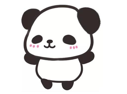 大熊貓簡筆畫