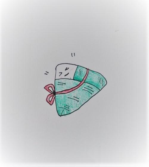 粽子的简笔画