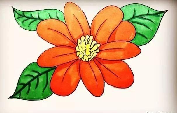 花朵簡筆畫