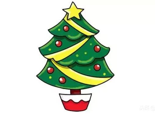 圣誕節簡筆畫