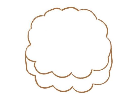 月餅的簡筆畫
