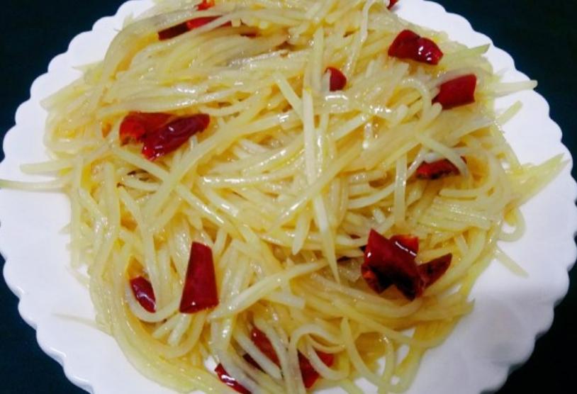 土豆絲的做法