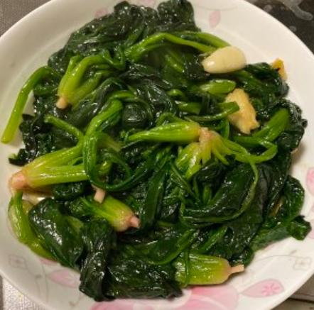 菠菜的做法