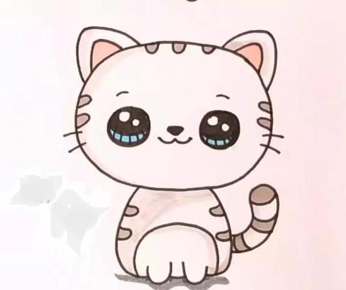 小貓簡筆畫