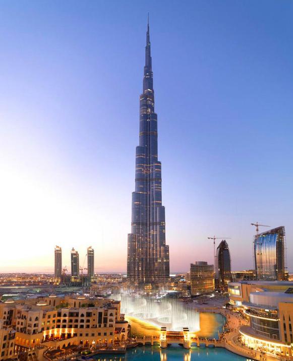 世界上最高的塔
