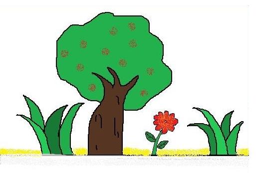 少兒簡筆畫花草樹木