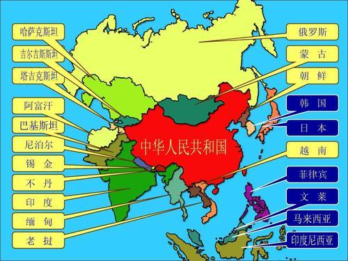 世界上邻国最多的国家