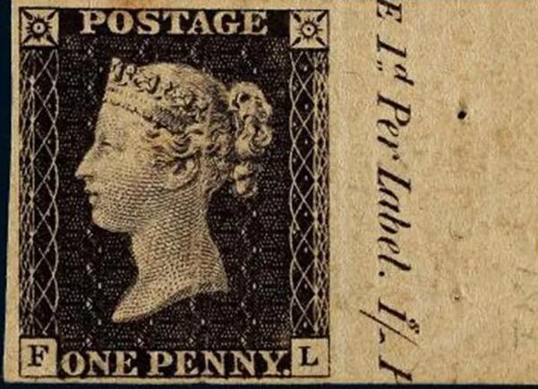 世界上第一枚邮票