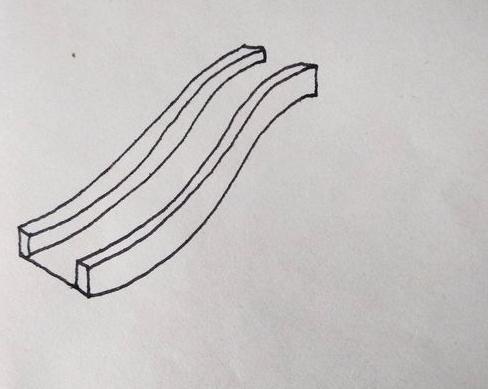 滑滑梯簡筆畫