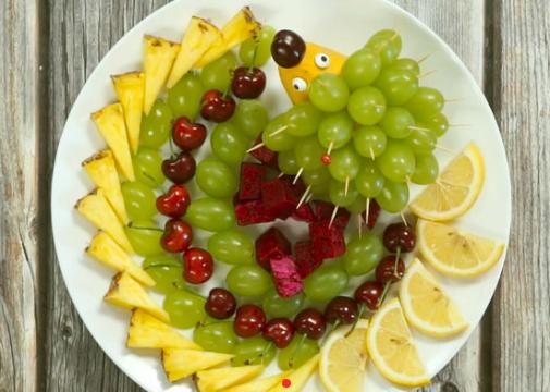 水果拼盤圖片及做法