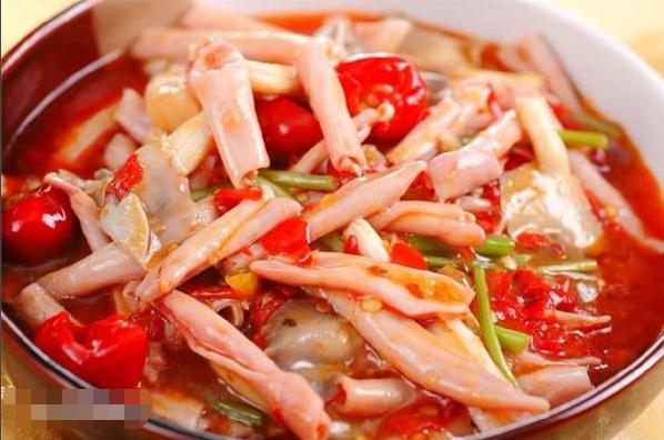 中國十大禁菜