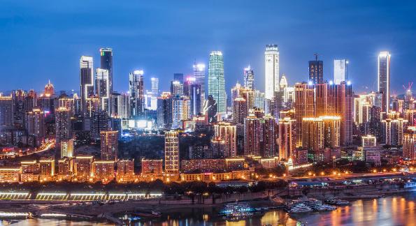 中國10大城市排名