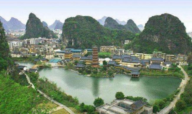 桂林景点排行榜前十名