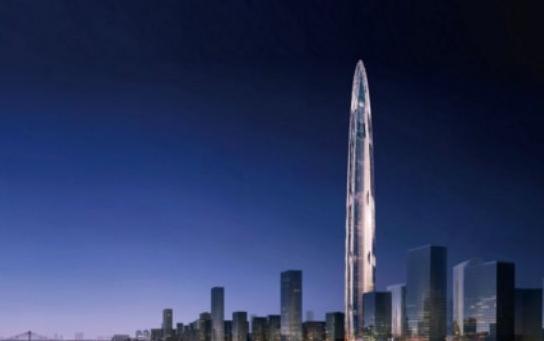 中国高楼排行榜前十名
