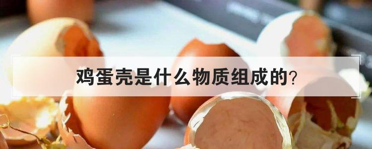 鸡蛋壳是什么物质组成的