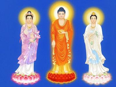 三圣佛都有那三位菩萨
