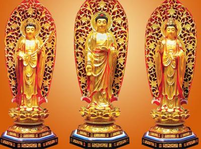 三圣佛都有那三位菩薩