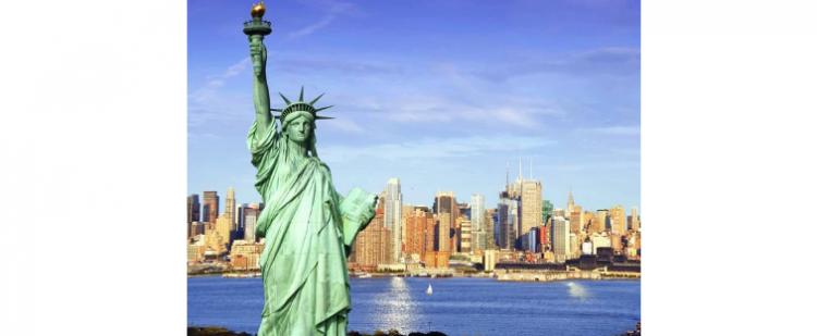 自由女神在哪个城市