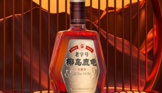 椰岛鹿龟酒的功效作用