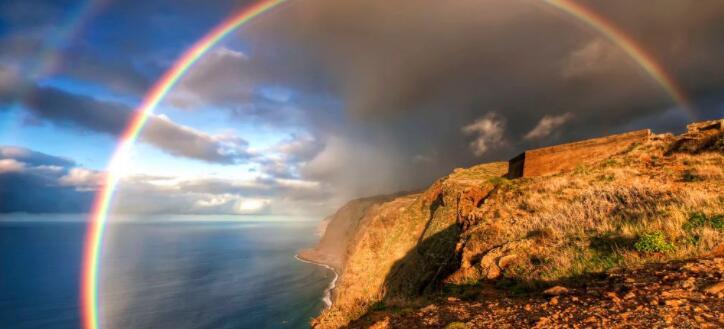 彩虹的颜色是哪七种