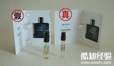 印刷的香水图案不同