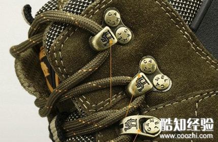正品骆驼登山鞋饰扣