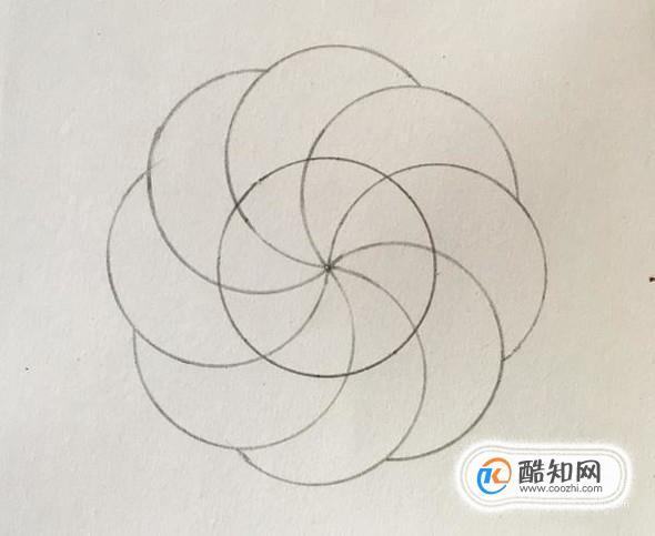 怎样用圆规画好看的图案?优质