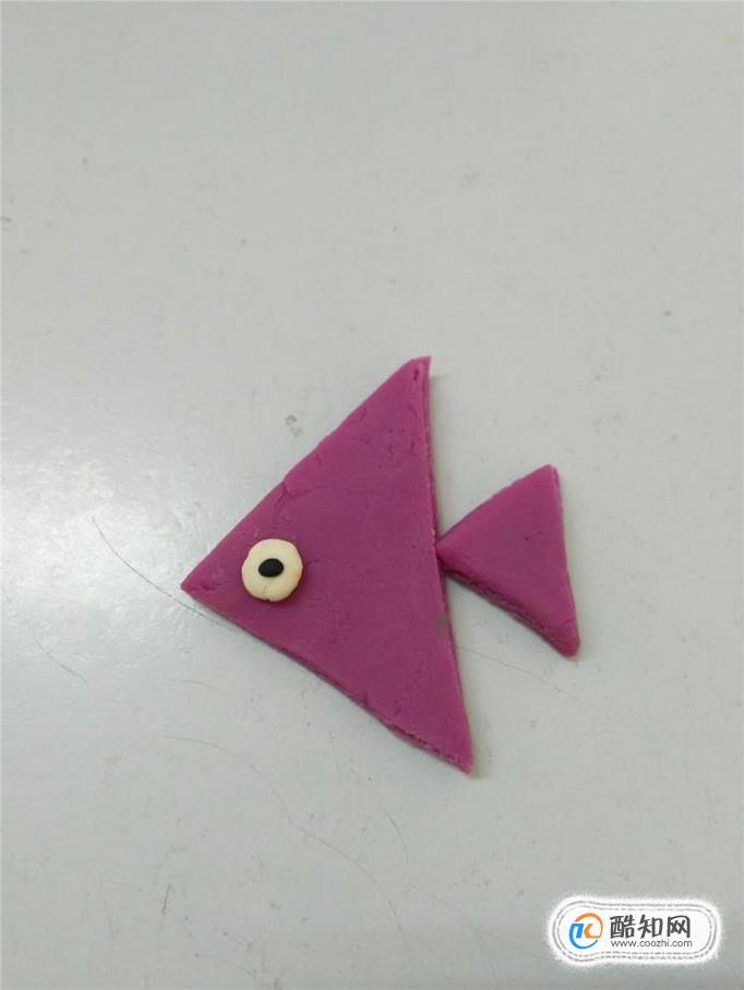幼儿园手工太空泥橡皮泥小鱼制作教程优质