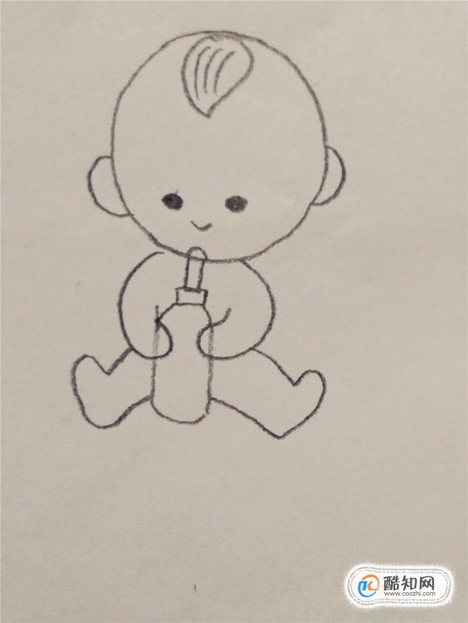一分钟简笔画—跟我一起画婴儿优质