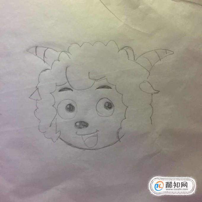 喜羊羊怎么画一步一步教学,喜羊羊简笔画步骤图优质