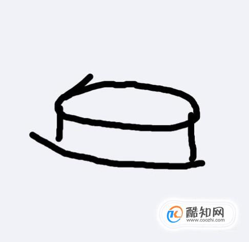 儿童简笔画教程大全 围巾简笔画的画法图解