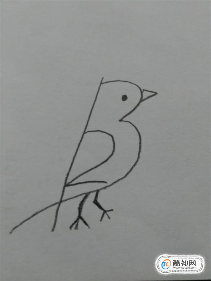 用数字1,2,3画小鸟的简笔画优质