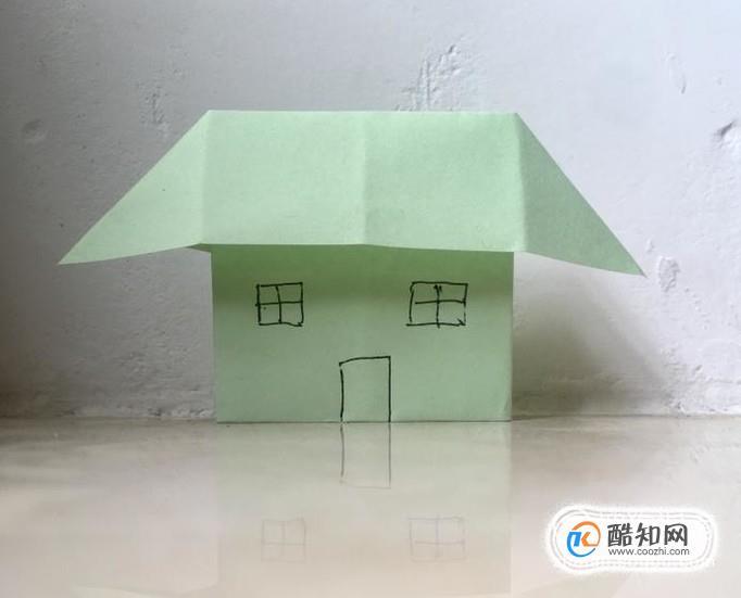 手工折纸房子,简单的漂亮立体小房子的折法图解优质