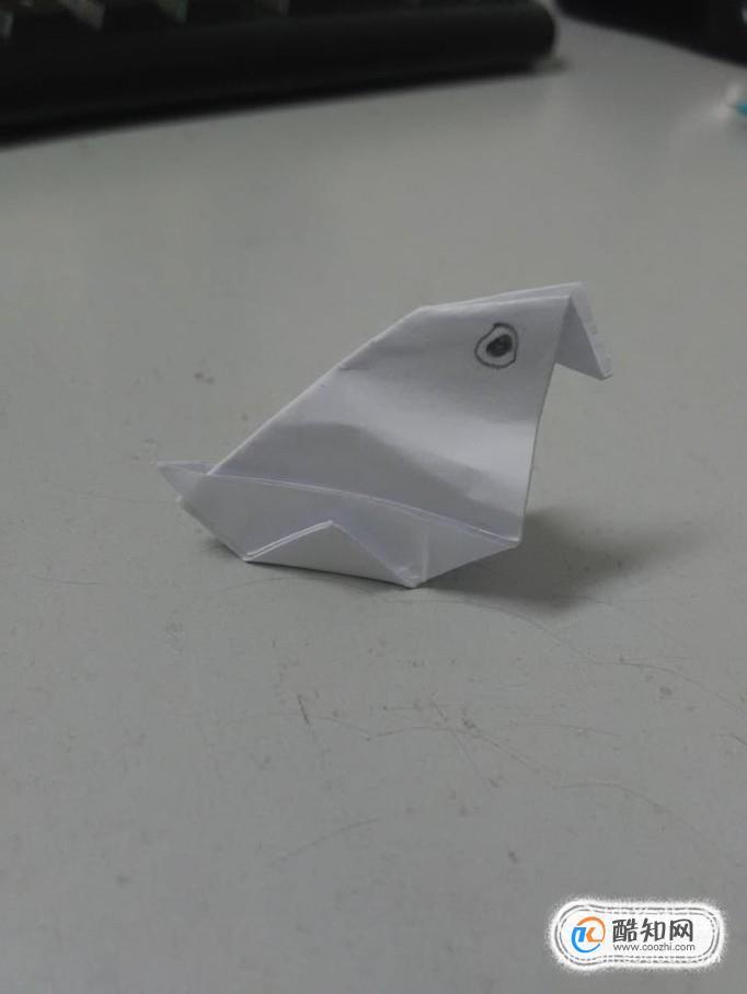 折纸动物 小鸡立体折纸优质