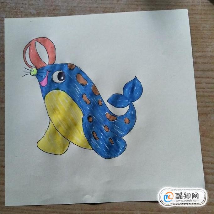 水彩笔画小动物画法教程优质