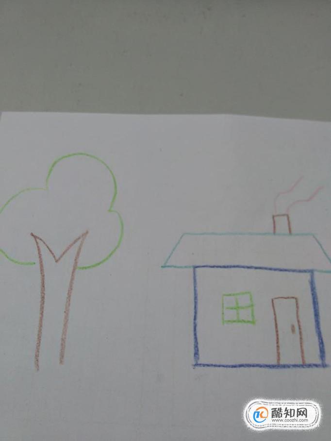 大树房子简笔画怎么画优质