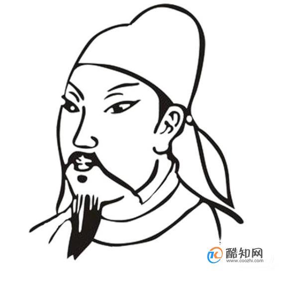 李白简笔画怎么画