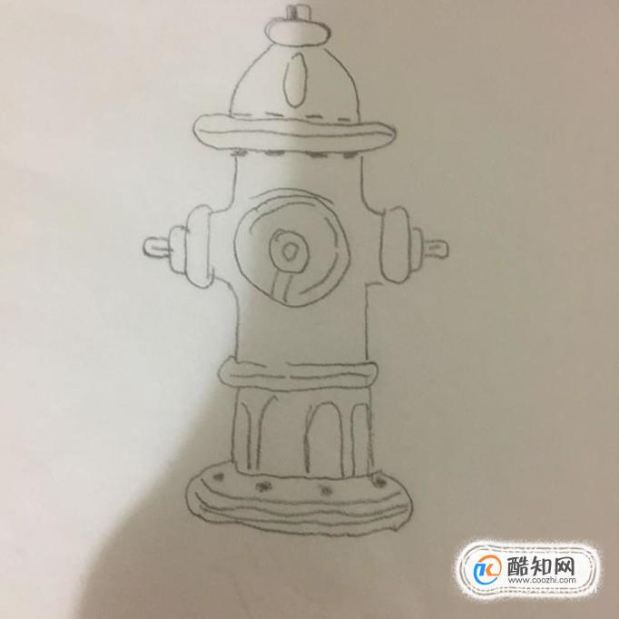 如何画消防栓简笔画
