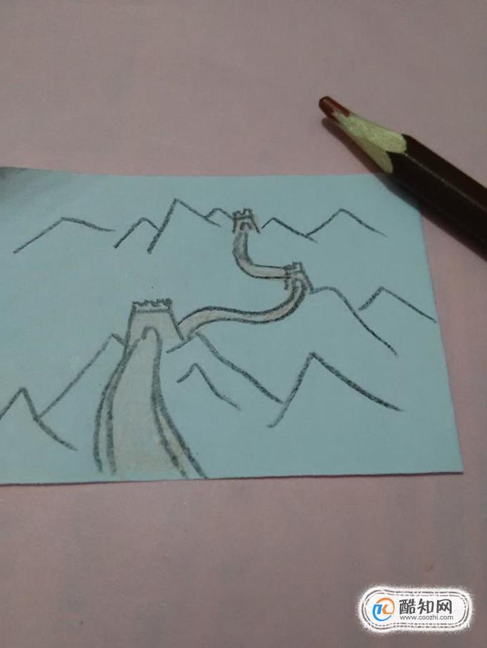 长城彩色简笔画怎么画优质