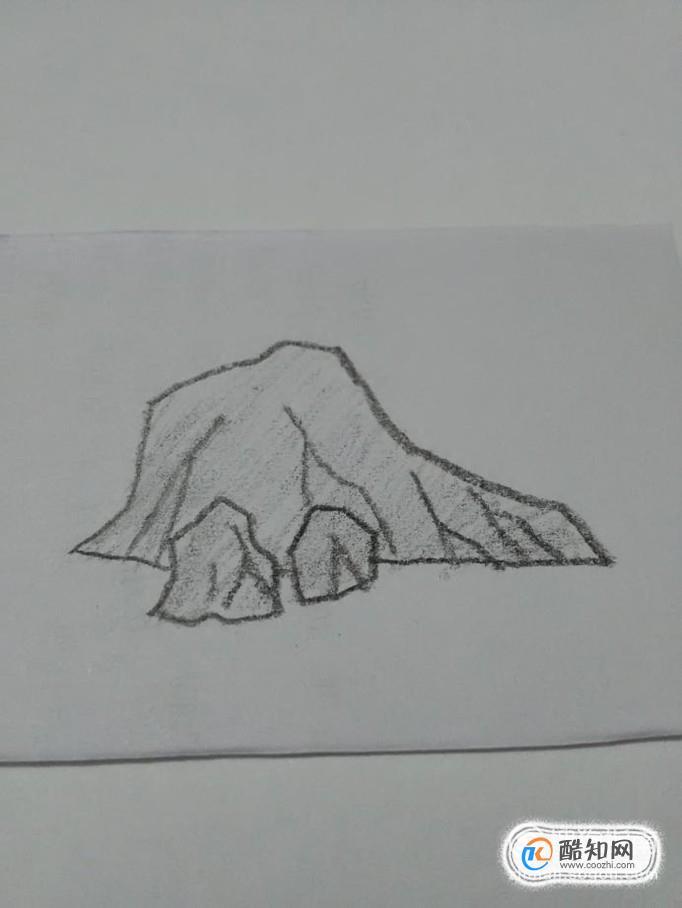 简笔画石头是怎样画的优质图片