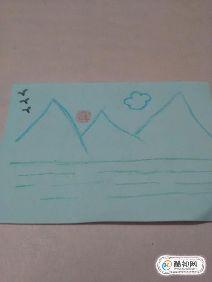 简笔画----风景画的简易画法优质