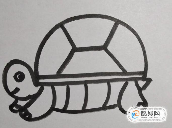 乌龟的简笔画怎么画?