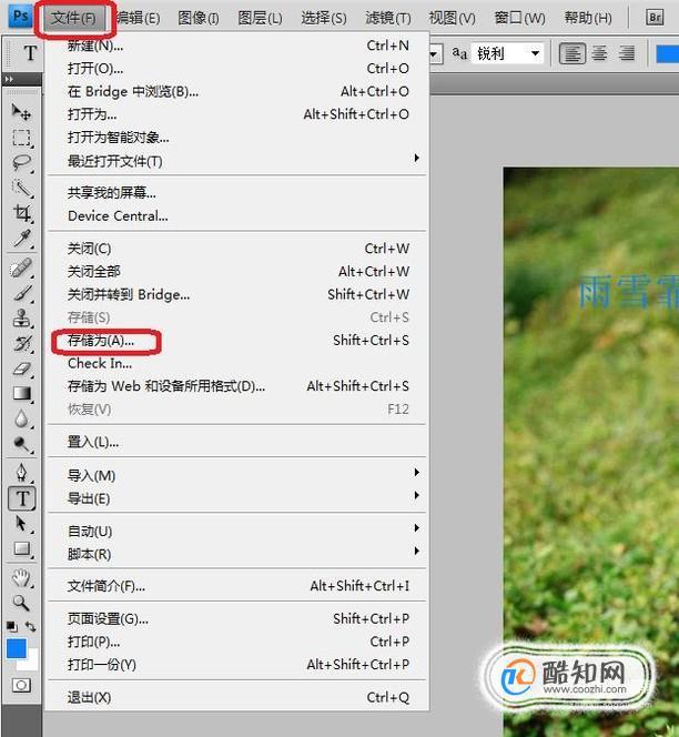 ps更改图片格式_如何将PS修改后的图片保存为自己想要的格式_酷知经验网