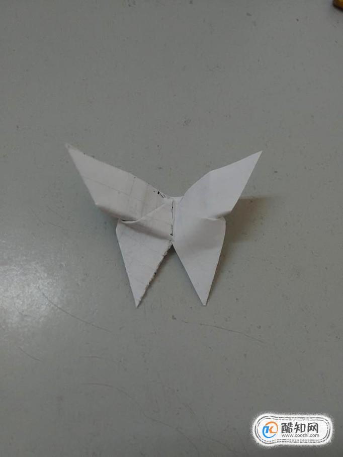 如何手工制作一只纸蝴蝶_酷知经验网