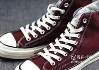 生活常识科普:匡威鞋带系法